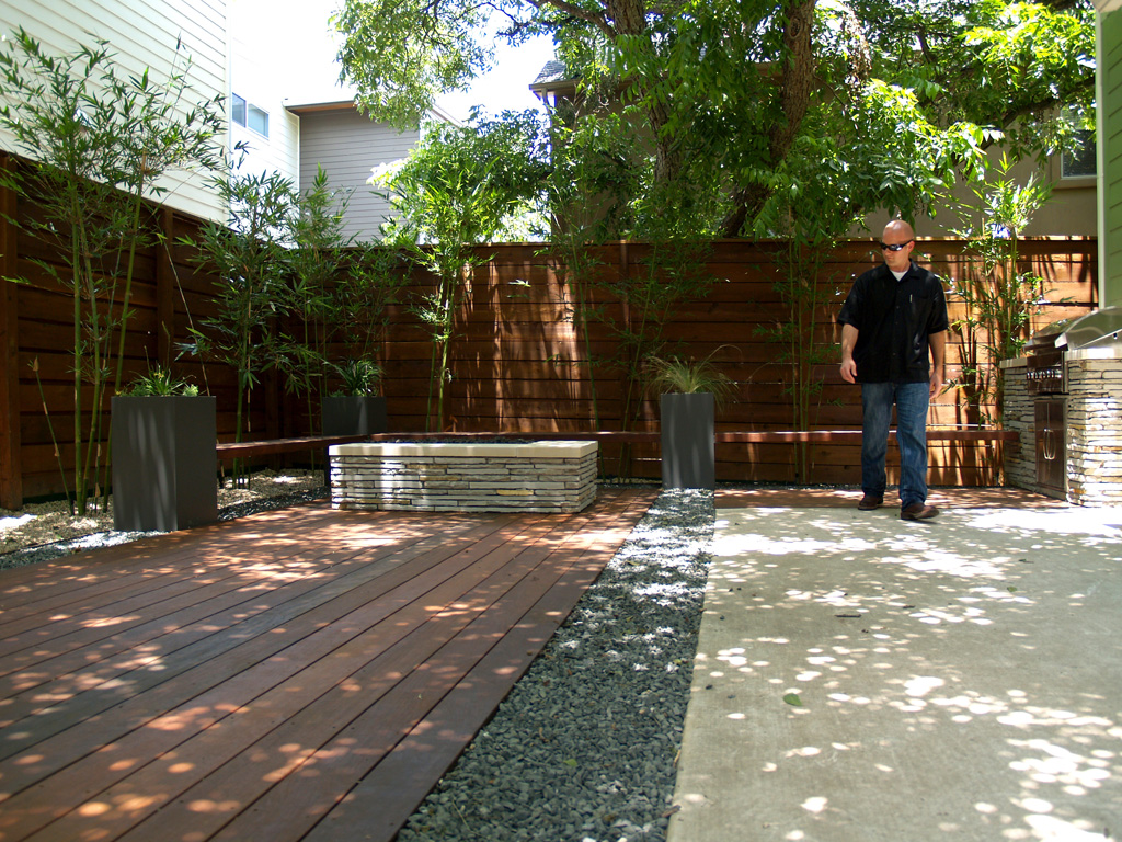 How We Live Outdoors in Austin - austin outdoor design