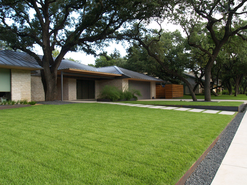 Perfect Lawn Featuring Shade Tolerant Zorro Zoysia Grass