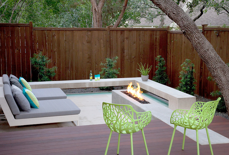 Austin Modern Landscape Design Build Firm Magnificent Backyard Design Landscaping