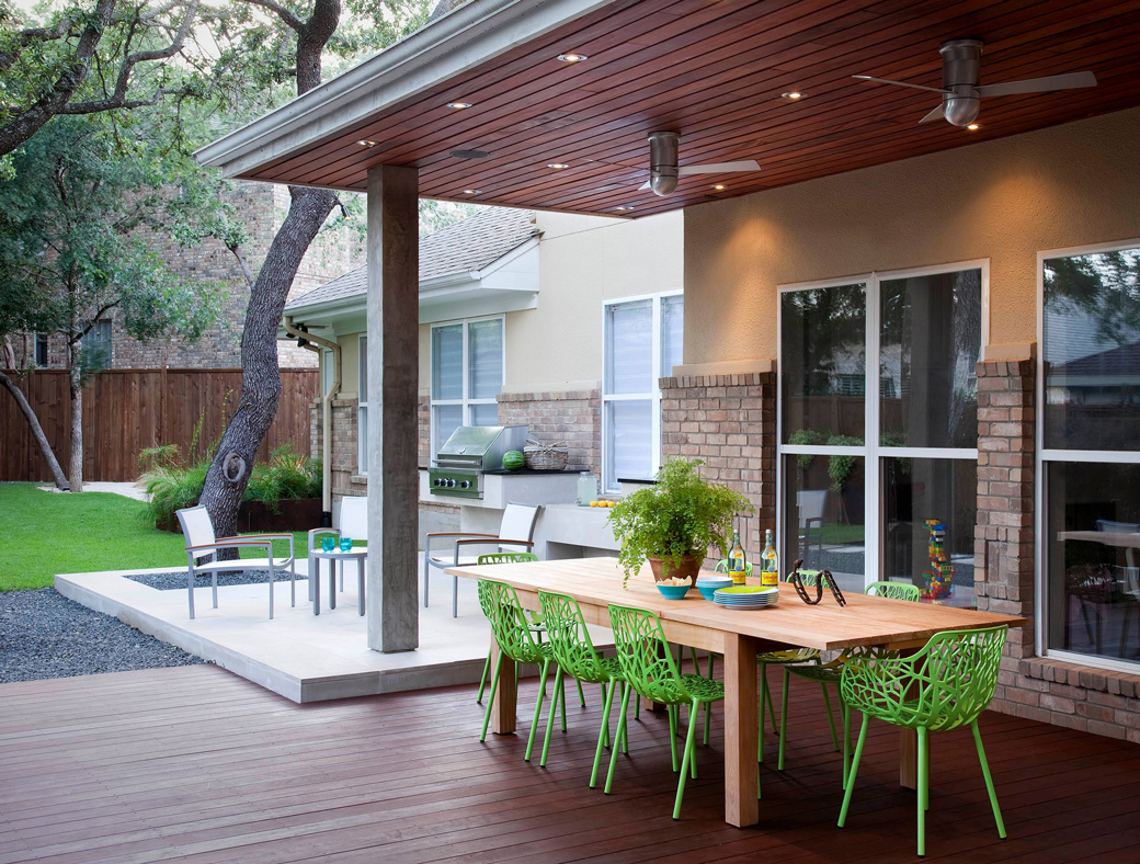 grosvener court - austin outdoor design