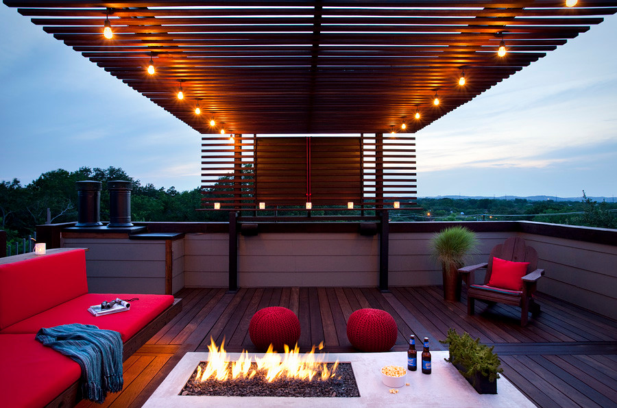 Perfect Rooftop Patio
