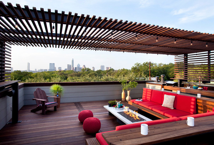 Rooftop Ipe Patio Deck